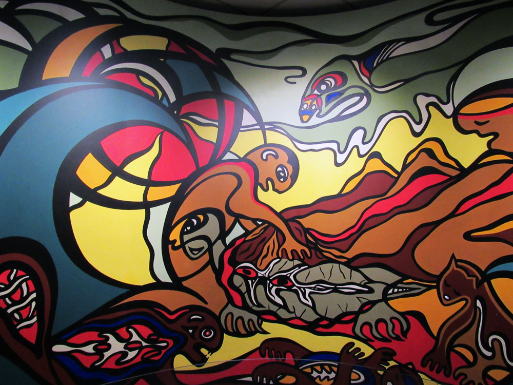Manitoba First Nation art of creation