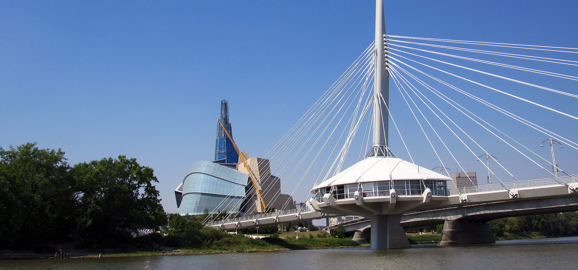 River way in Winnipeg