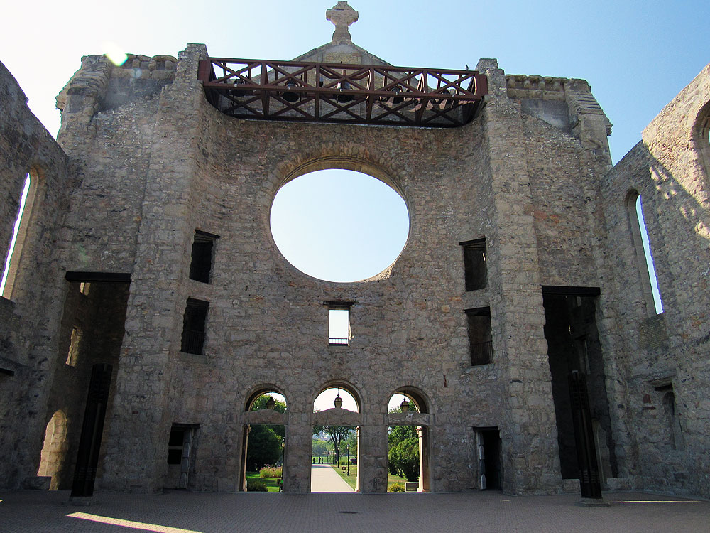 Ruins of Saint Boniface Cathedral