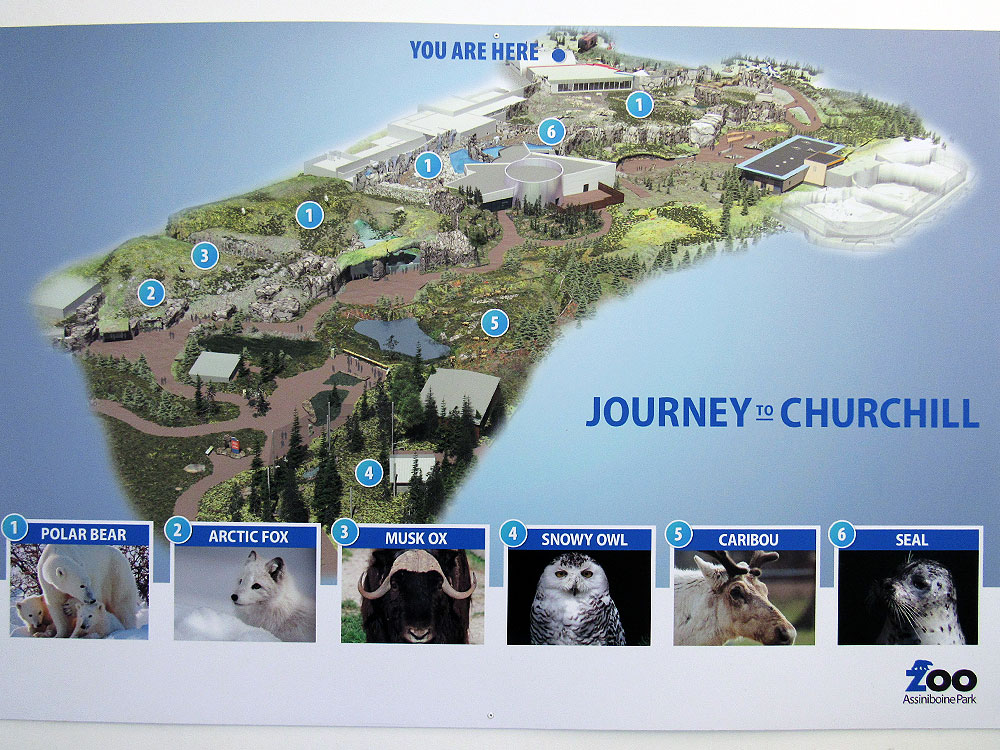 Journey to Churchill Map