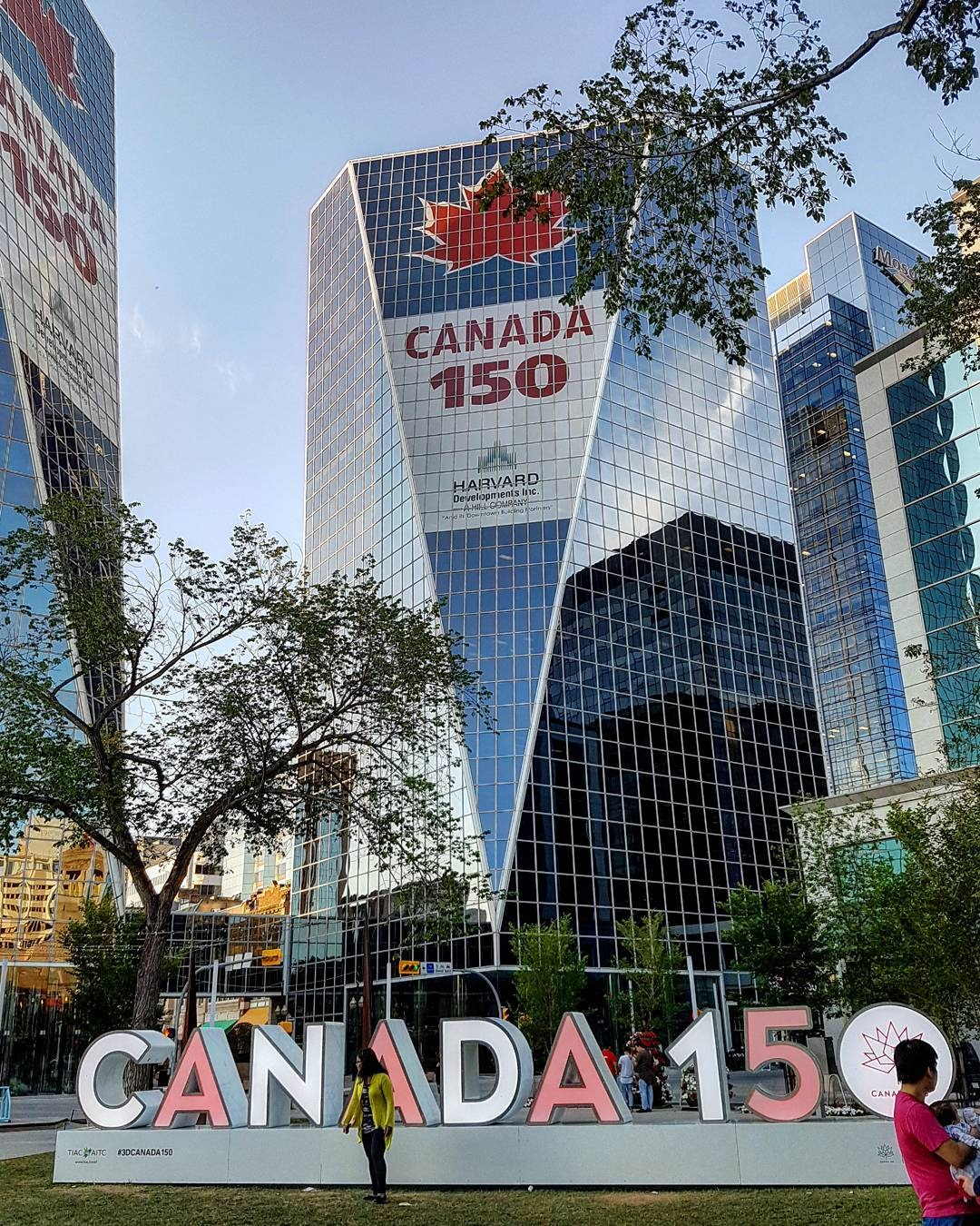 Downtown Regina for Canada 150
