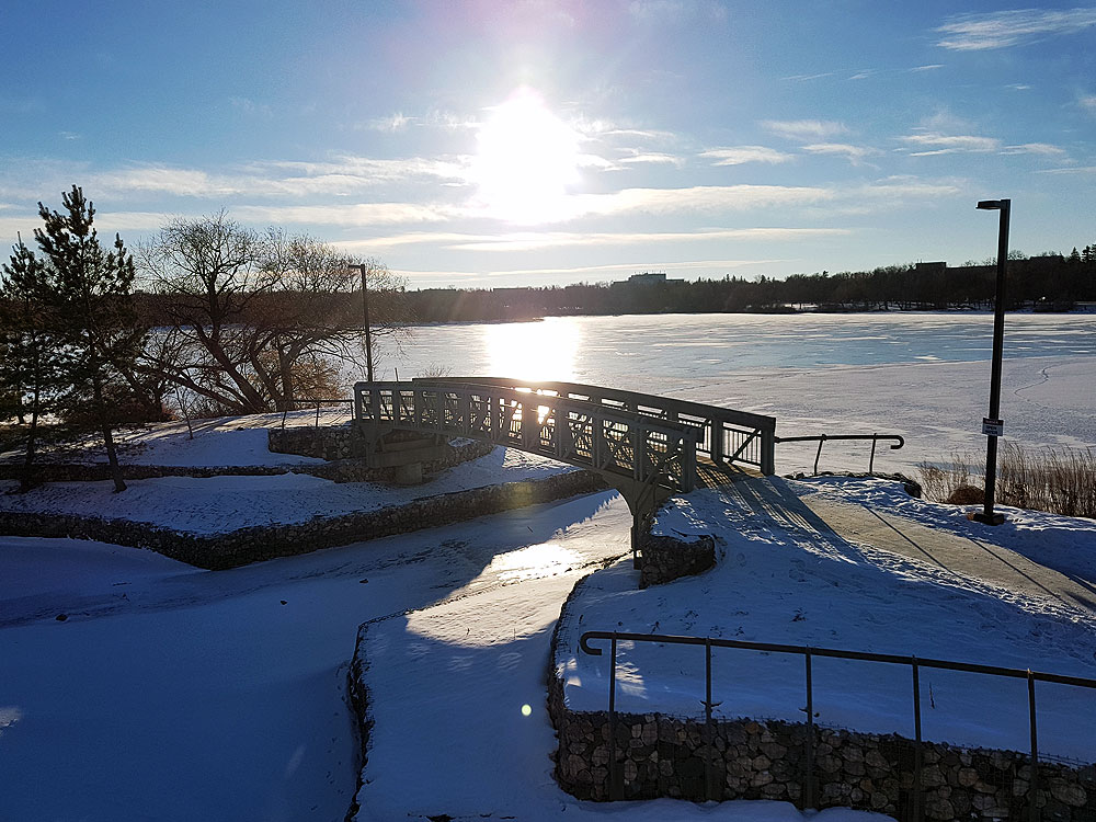 Wascana Lake in Winter