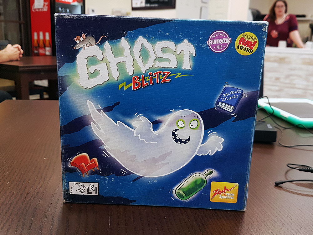 Ghost board game