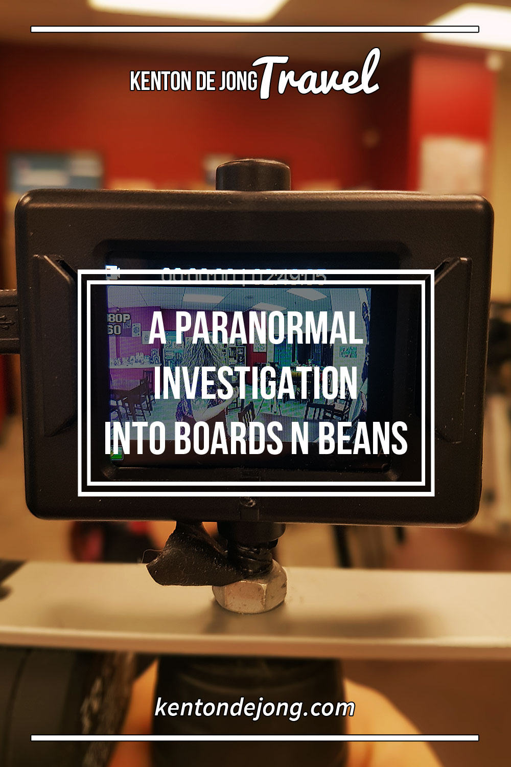 A Paranormal Investigation into Boards n Beans