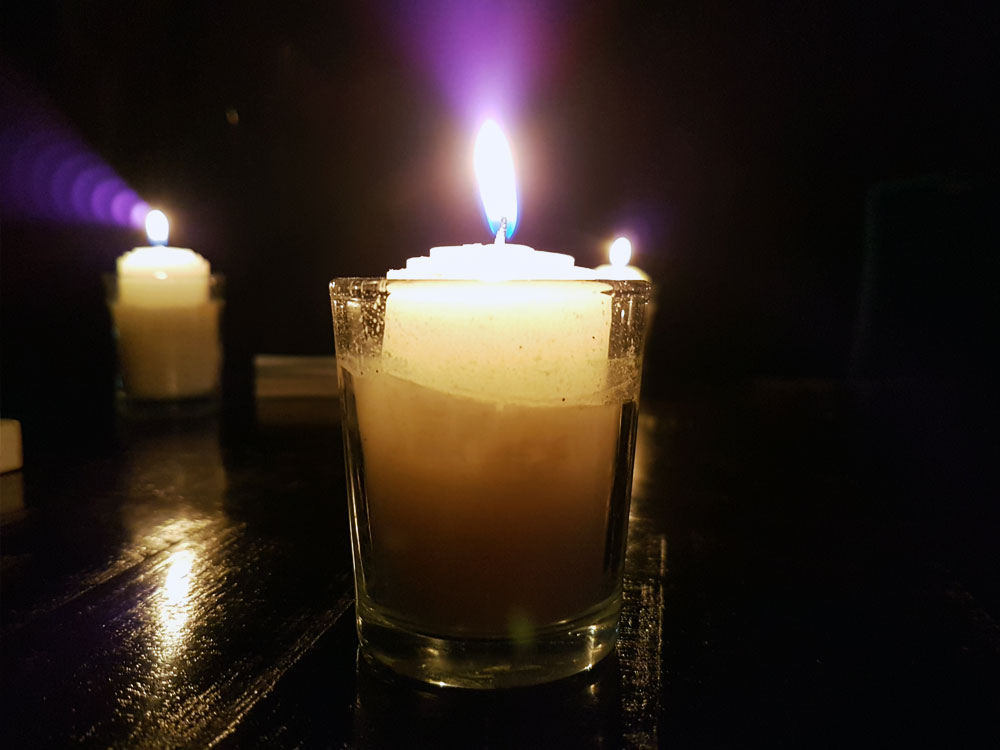 Candle at Devil's Night