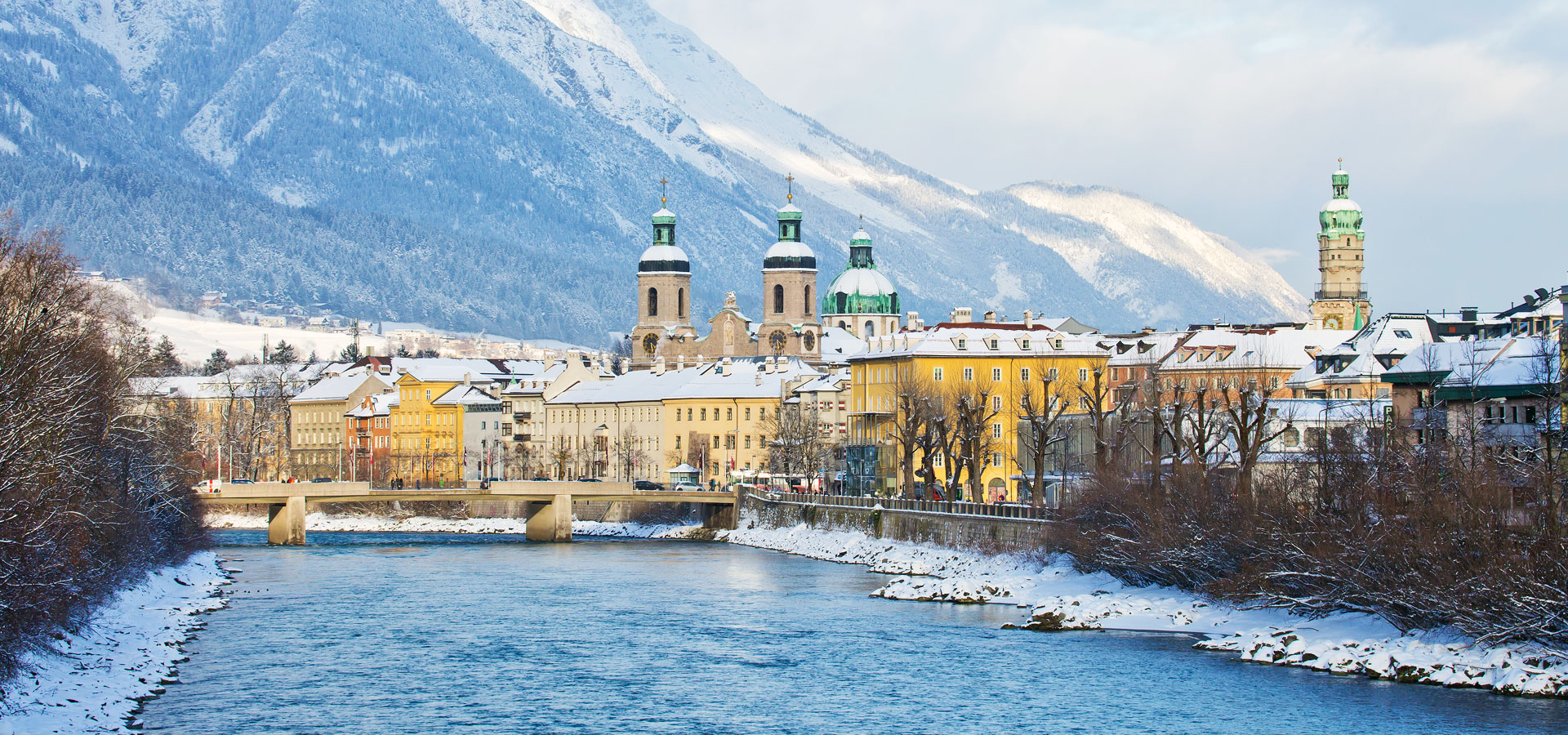 Innsbruck from across the river