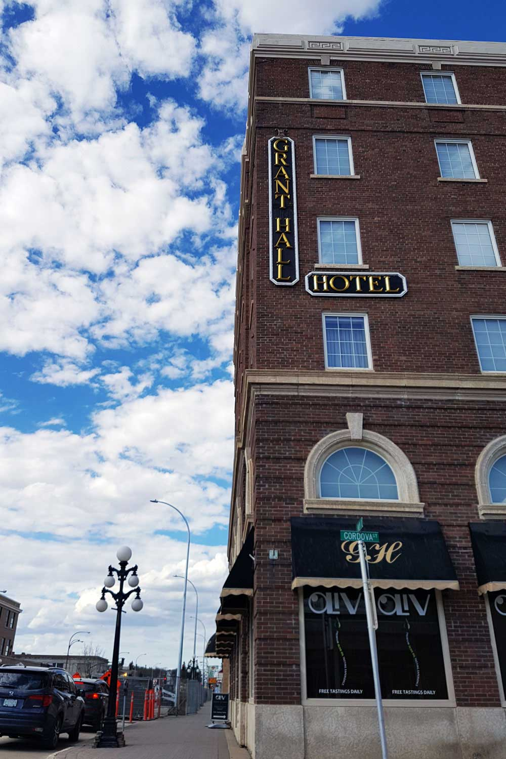 Grant Hall Hotel in Moose Jaw