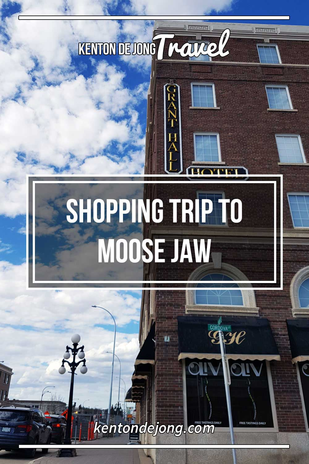 Shopping Trip to Moose Jaw