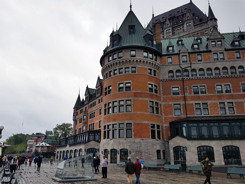 Old Quebec City's Chateau Frontenac