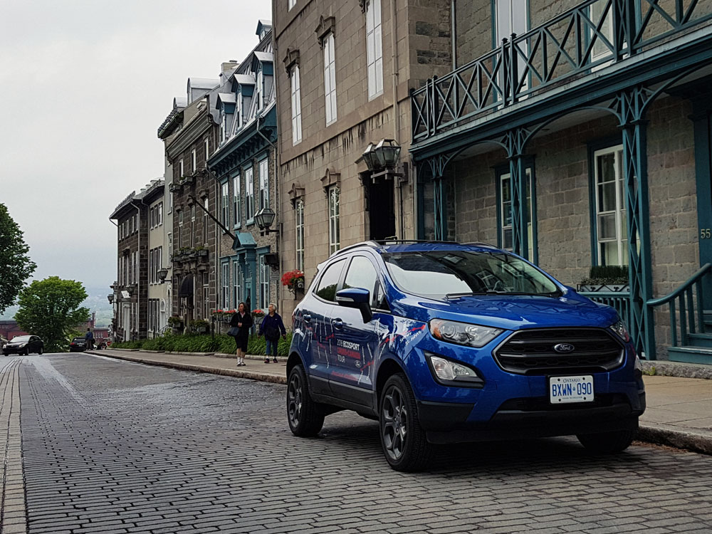 Ford EcoSport in Old Quebec City