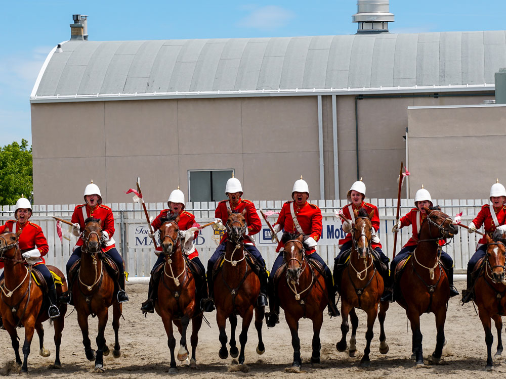 Ford McLeod's N.W.M.P Musical Ride