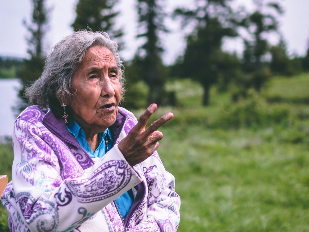 Elder Margaret Plain Eagle