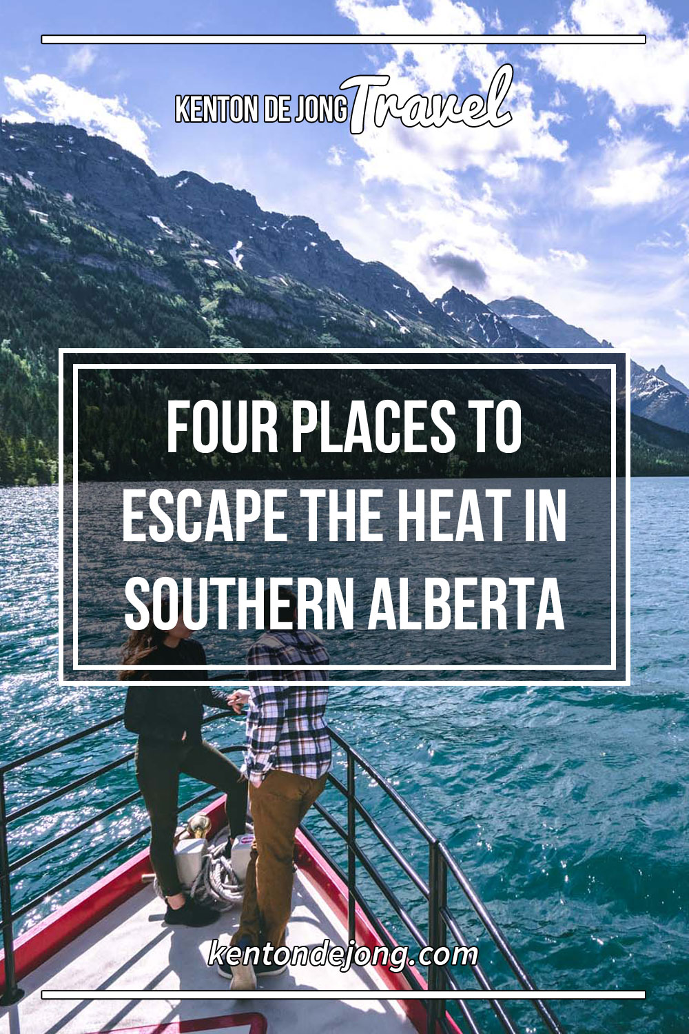 Four Places to Escape the Heat in Southern Alberta