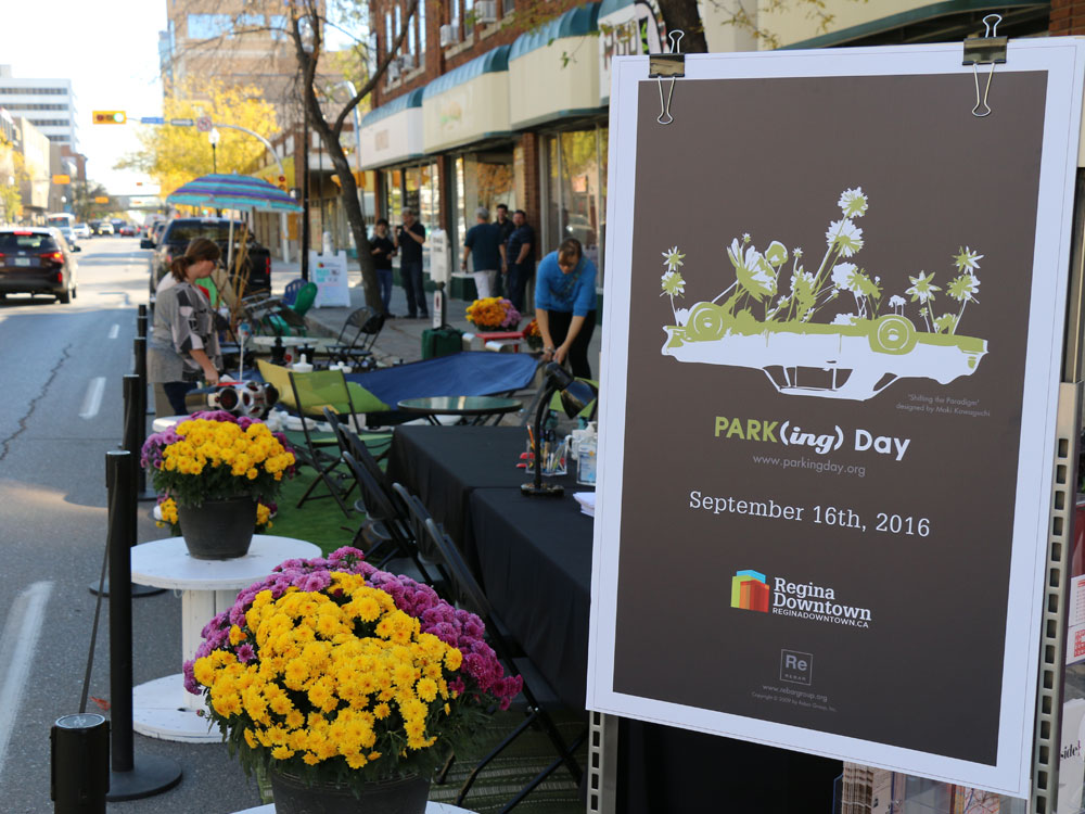 Parking Day in Regina 2016