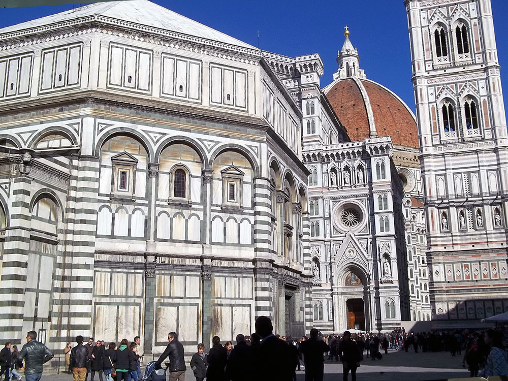 Florence's Cathedral walls
