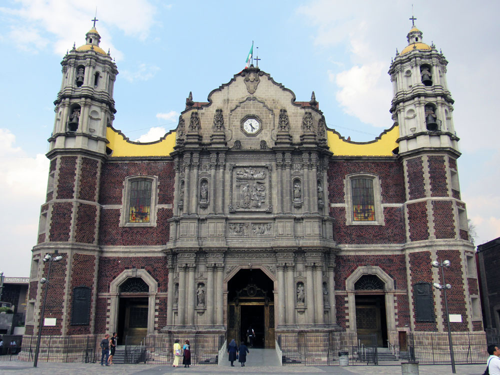 1709 version of Basilica of Our Lady of Guadalupe