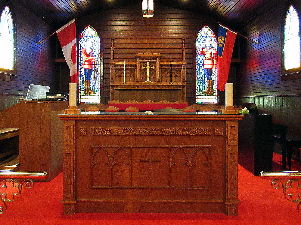 Inside RCMP Chapel