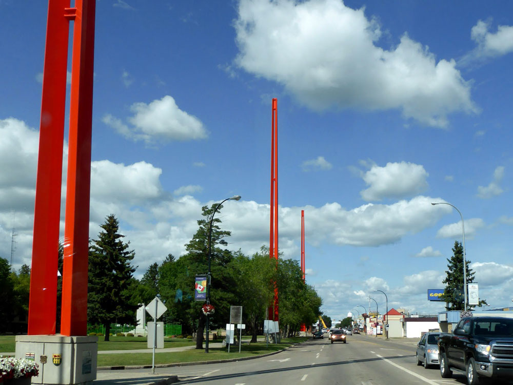 Lloydminster's Border Markers
