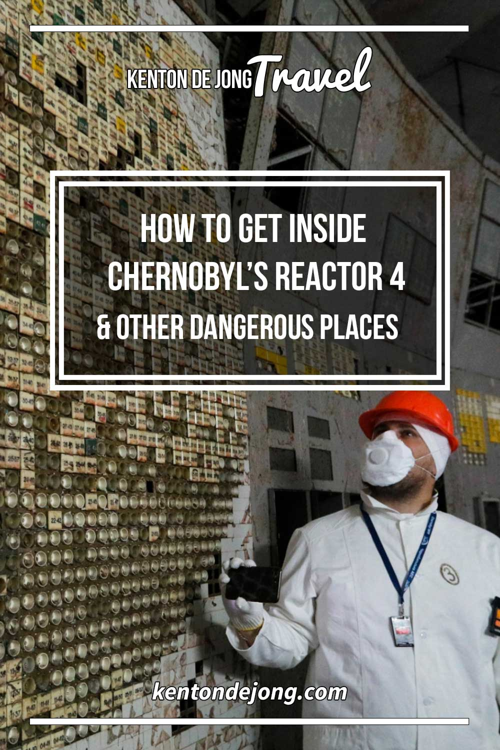 How to get Inside Chernobyl's Reactor 4
