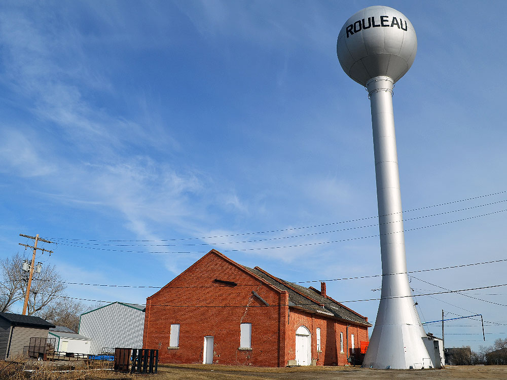 Water tower in Rouleau