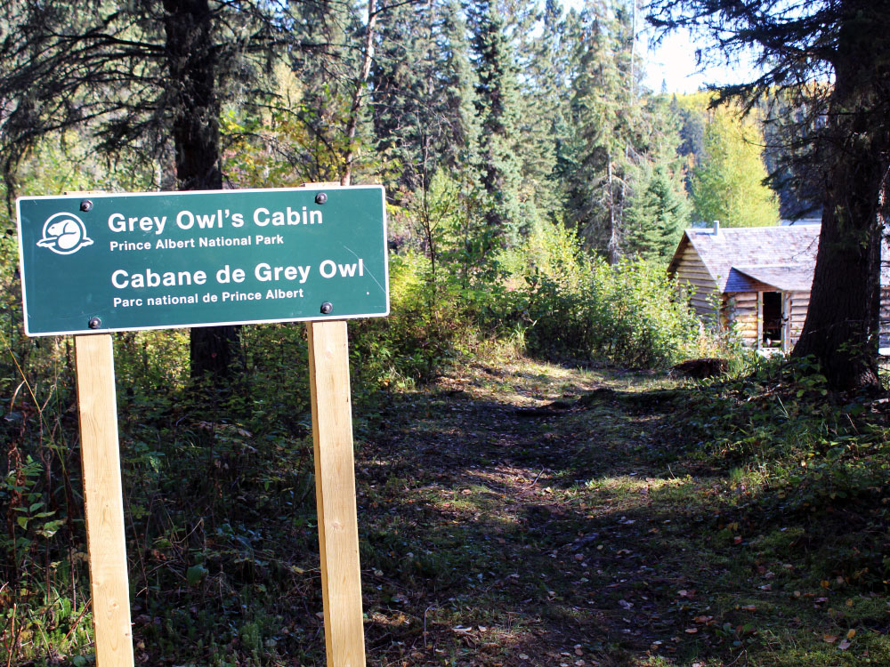 Welcome to Grey Owl's Cabin