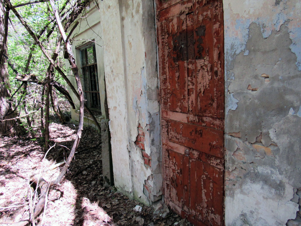 Abandoned house in Exclusion Zone