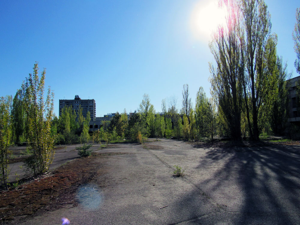 Plaza in Chernobyl