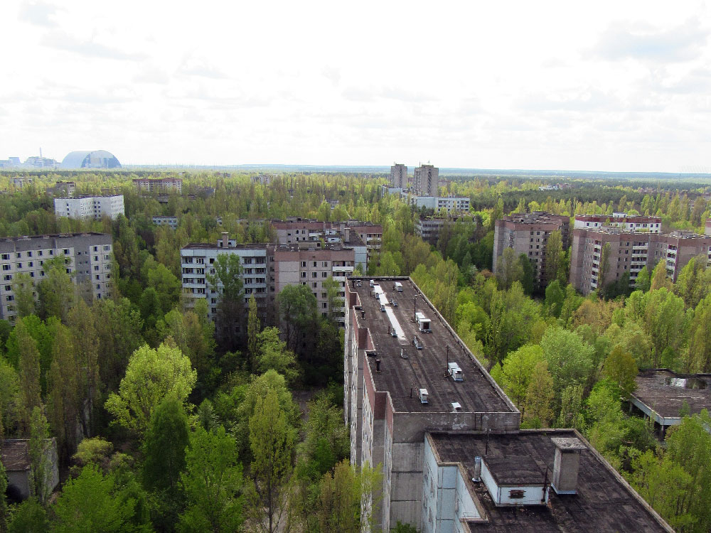 Rooftops of Chernobyl
