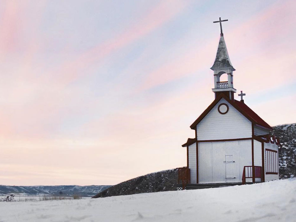 Church at Lebret