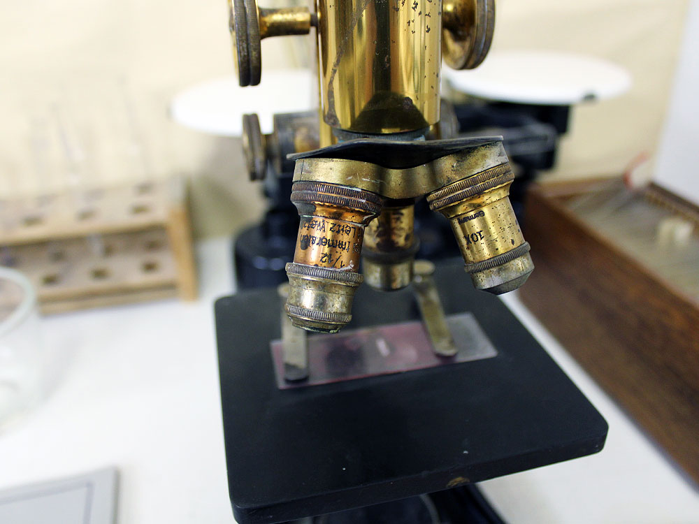 Microscope at Weyburn Mental Hospital