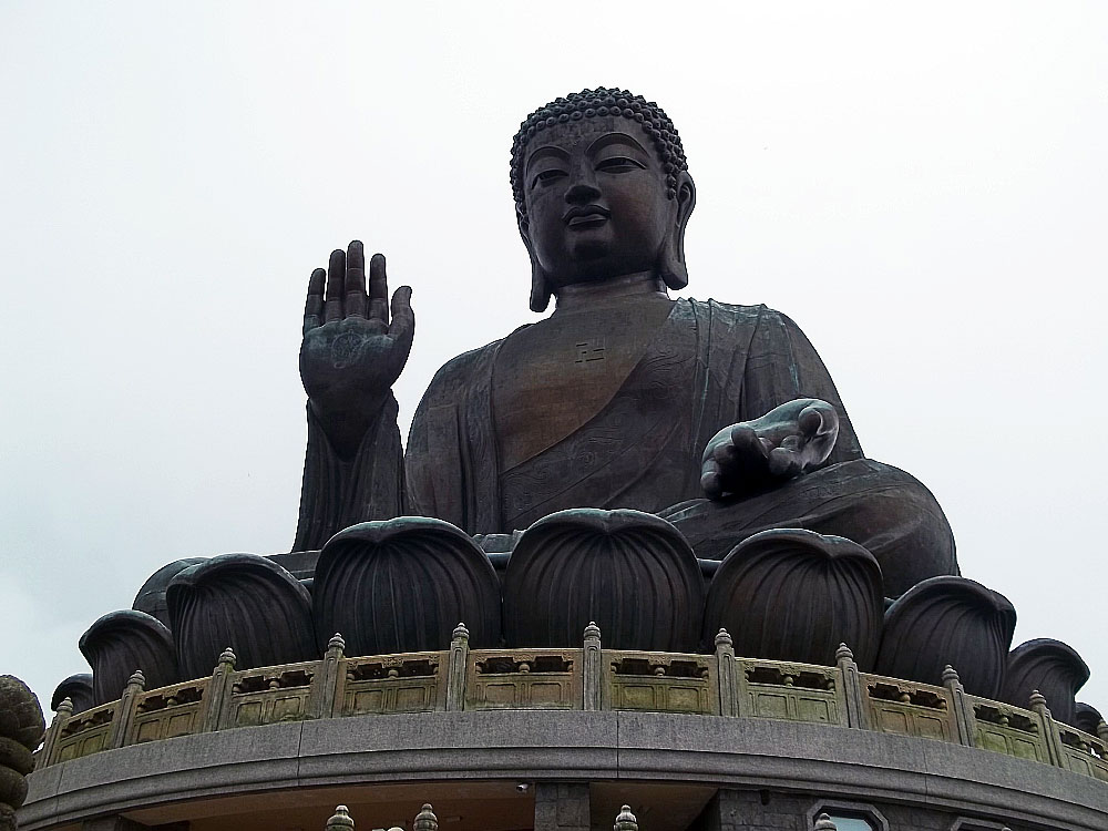 Tin Tan Buddha in Hong Kong