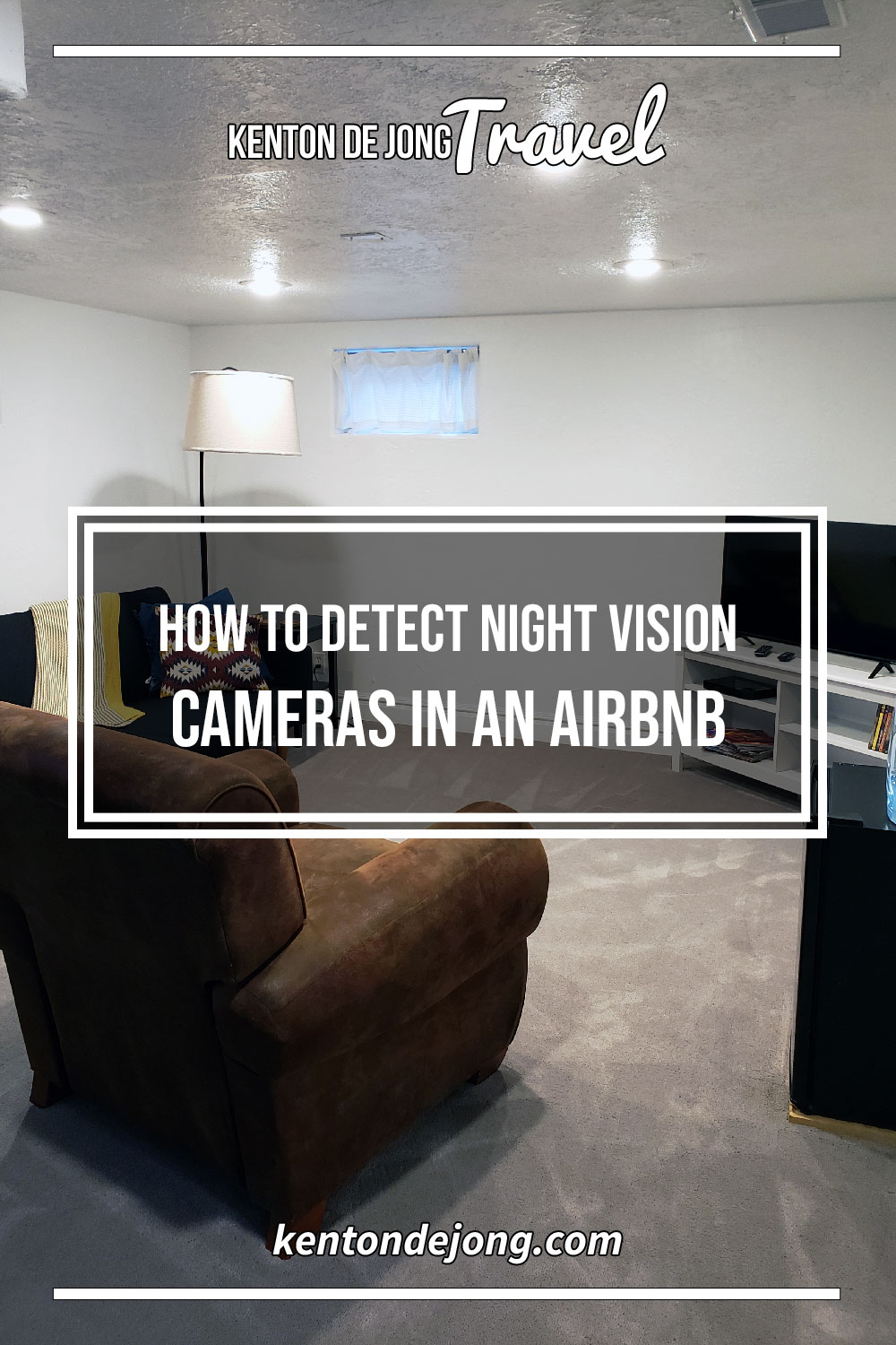 How to Detect Night Vision Cameras in an Airbnb