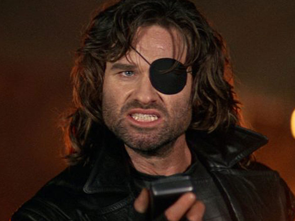 Snake Plissken from Escape from LA before using the EMP