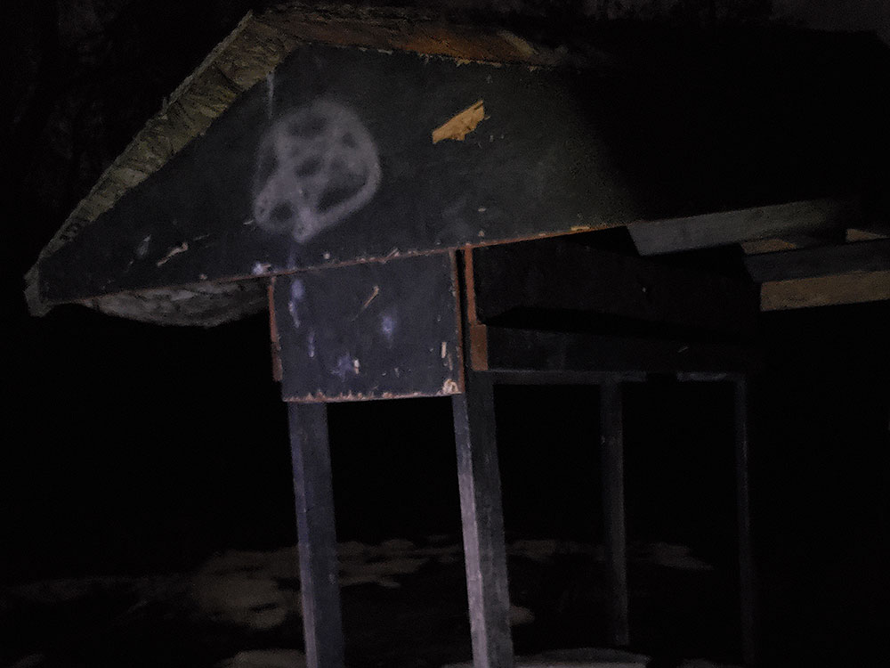 Haunted well at Kay's Hollow