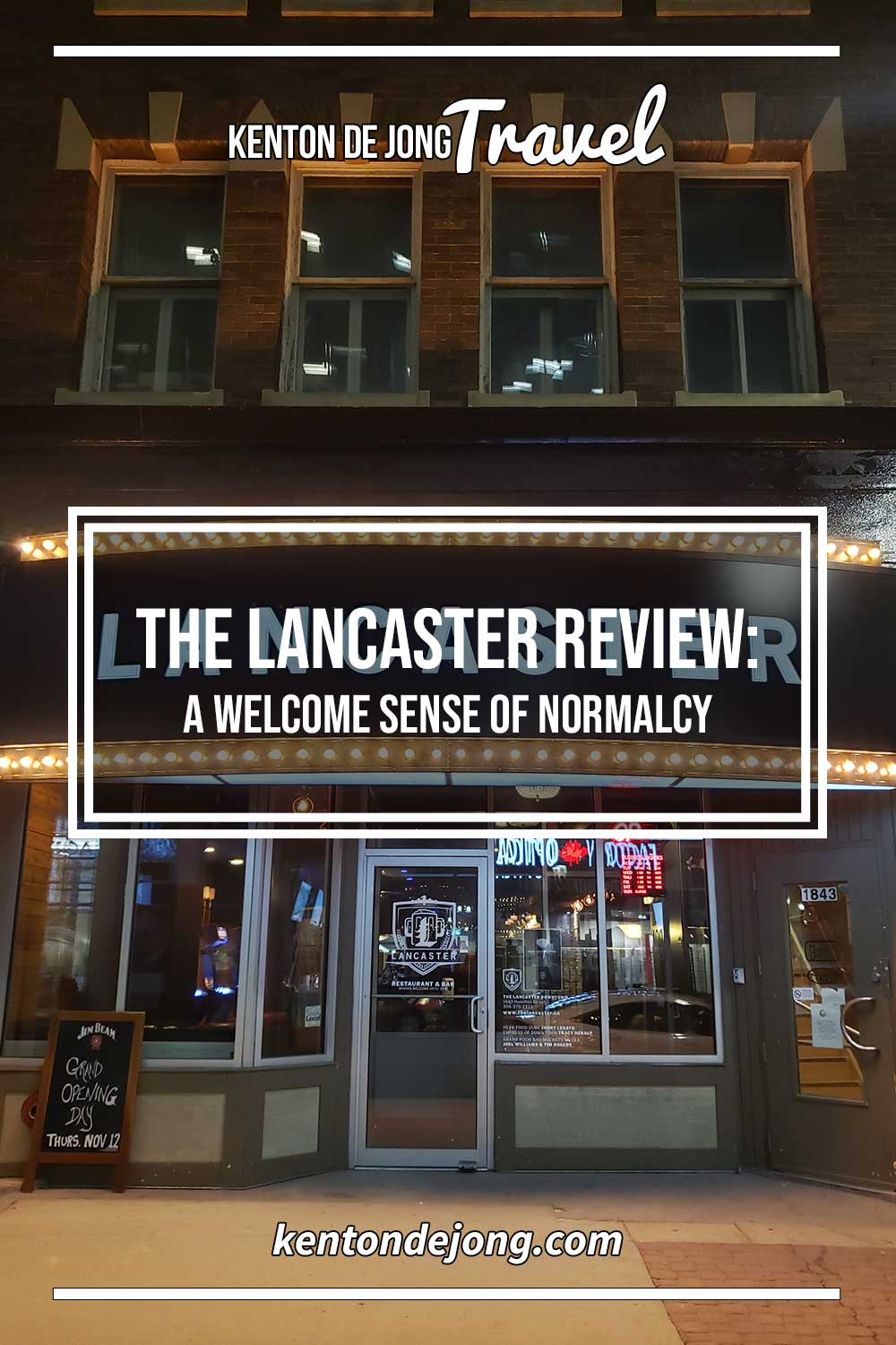 Lancaster Review: A Welcome Sense of Normalcy