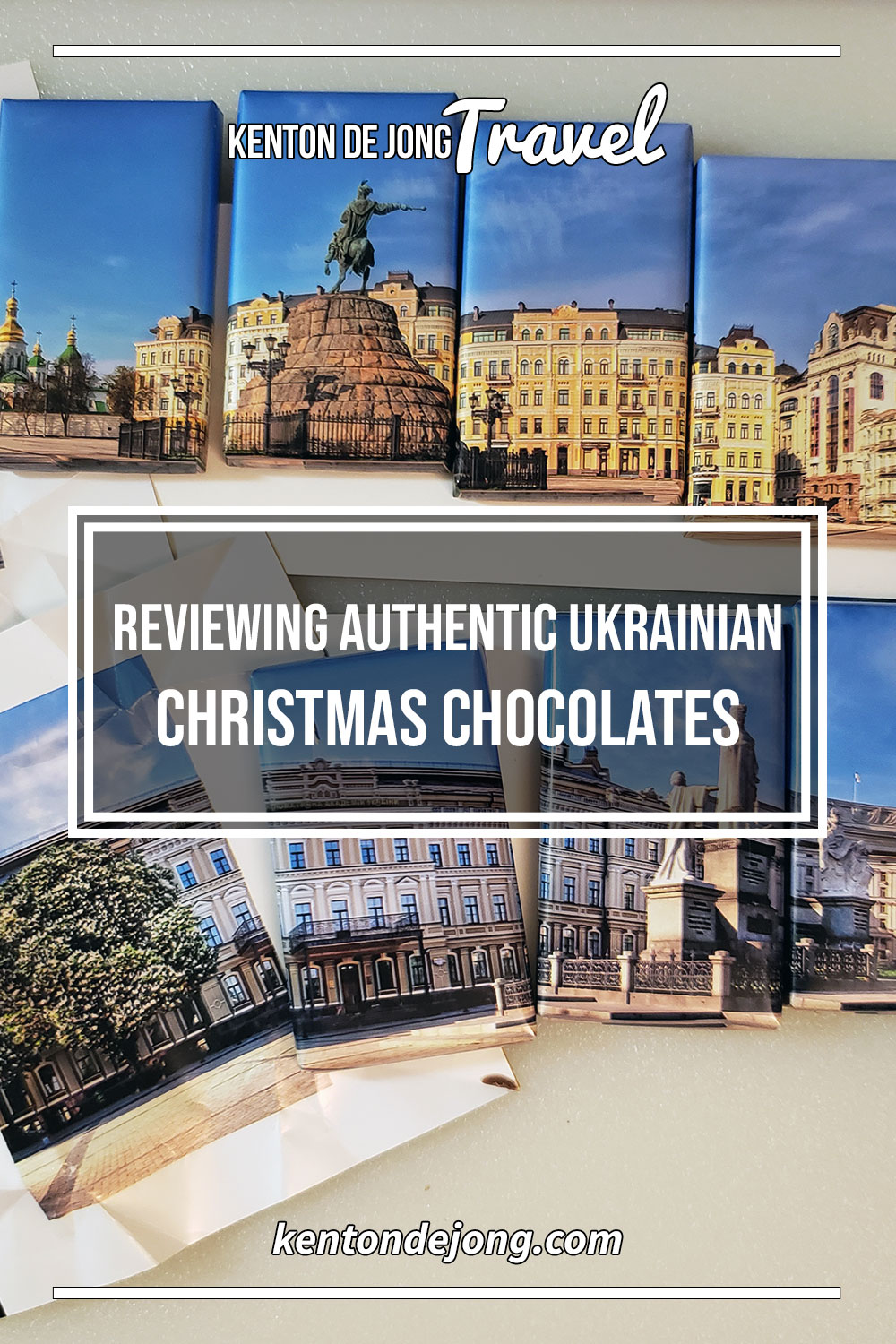 Reviewing Authentic Ukrainian Christmas Chocolates