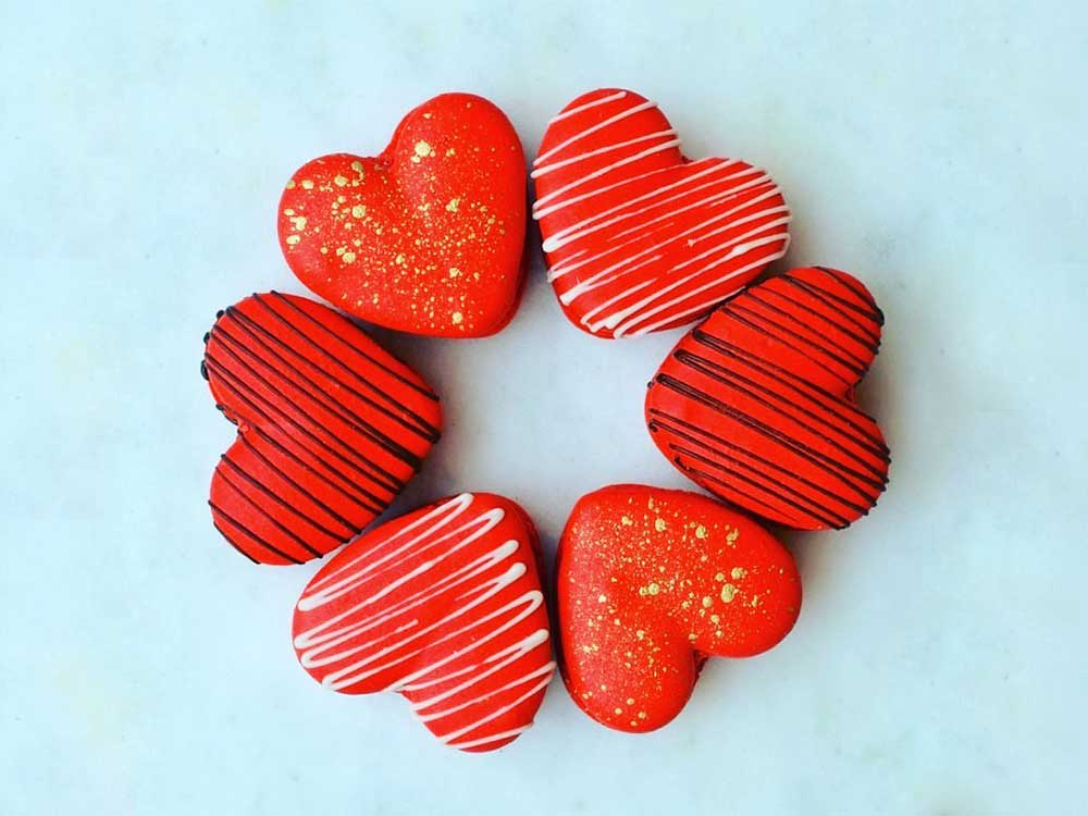 Chocolates hearts by Takeaway Gourmet